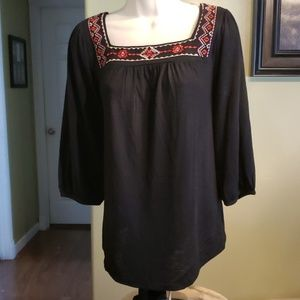 French Laundry pullover blouse